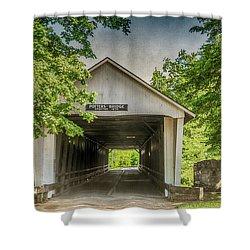 10700 Potter's Bridge Shower Curtain