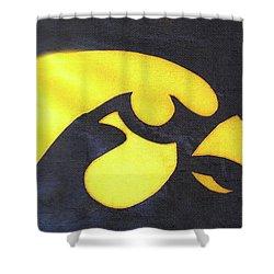 10724  Iowa Hawkeye Shower Curtain