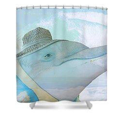 10732 Flipper Shower Curtain