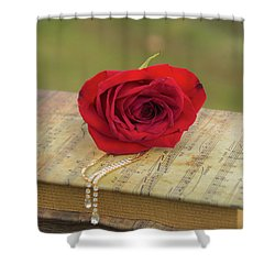 10754 For You My Love Shower Curtain
