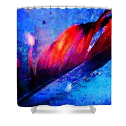 108 Shower Curtain by Timothy Bulone