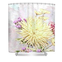 10865 Spring Bouquet Shower Curtain