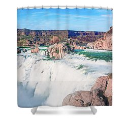10917 Shoshone Falls Shower Curtain