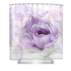 10947 Tulip Shower Curtain