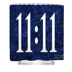 11 11 Shower Curtain