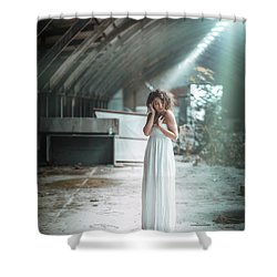 Shower Curtain featuring the photograph Giulia by Traven Milovich