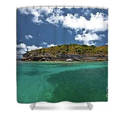 Sea And Clouds Shower Curtain
