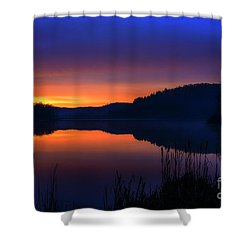 Shower Curtain featuring the photograph Winter Dawn by Thomas R Fletcher