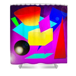 110a Shower Curtain by Timothy Bulone