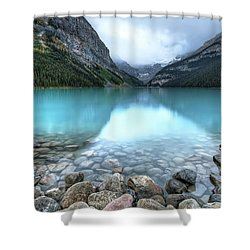 1111 Lake Louise Shower Curtain