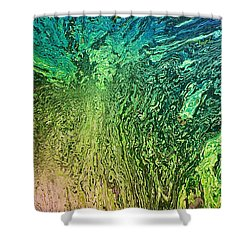 Shower Curtain featuring the digital art 111915 by Matt Lindley