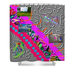 12-31-2056u Shower Curtain