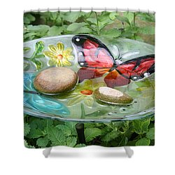 Cypress Gardens Shower Curtain