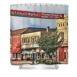 Downtown Perrysburg Shower Curtain