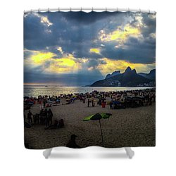 Ipanema Beach Shower Curtain