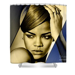Rihanna Collection Shower Curtain