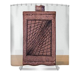 Untitled Shower Curtain by Linda Spangler