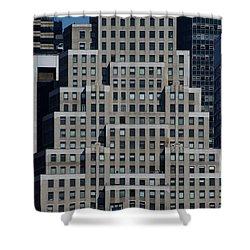 120 Wall Street Nyc Shower Curtain