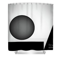 Shower Curtain featuring the digital art 1207 2017 by John Krakora