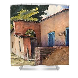 1247 Agua Fria Street Shower Curtain