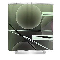 1296-2 2016 Shower Curtain by John Krakora