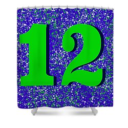12th Man Shower Curtain