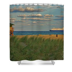 Shower Curtain featuring the photograph 13- Cruising In Paradise by Joseph Keane