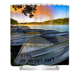 Lake Logan 2 Shower Curtain
