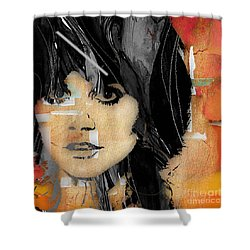 Linda Ronstadt Collection Shower Curtain