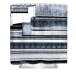 Metal Bars Shower Curtain