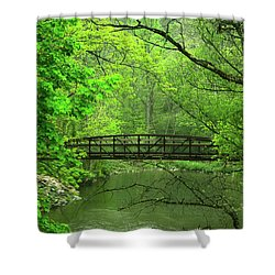 Jacobsburg State Park Pa Shower Curtain