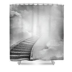 Shower Curtain featuring the photograph Stairway To Heaven by Les Cunliffe