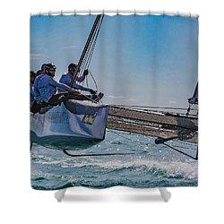 Watercolors Shower Curtain
