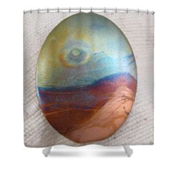 1347 Eye In The Sky Shower Curtain