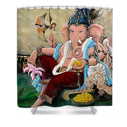 135 Shower Curtain