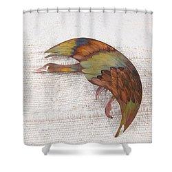 1397 Landing Goosse Shower Curtain