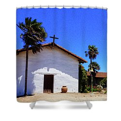 13th Mission Shower Curtain