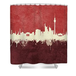 Berlin Germany Skyline Shower Curtain