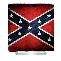 Confederate Flag 13 Shower Curtain