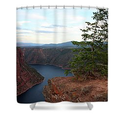 Flaming Gorge National Park Shower Curtain