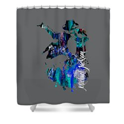 Michael Jackson Collection Shower Curtain