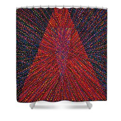 Mobius Band Shower Curtain by Kyung Hee Hogg