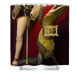 Salvador Dali Museum Shower Curtain