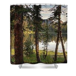Uinta Mountains, Utah Shower Curtain