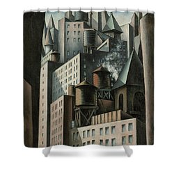 14th Street New York City Shower Curtain