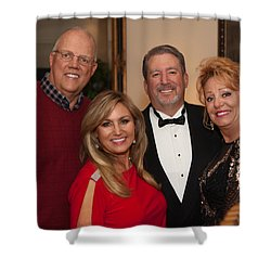 Christmasparty Shower Curtain