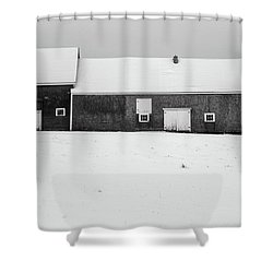 Down East Maine  Shower Curtain by Trace Kittrell