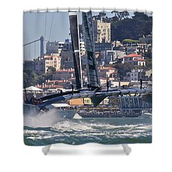 Oracle America's Cup Shower Curtain