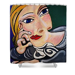 Picasso By Nora Shower Curtain by Nora Shepley