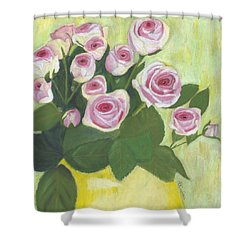 15 Pinks Shower Curtain